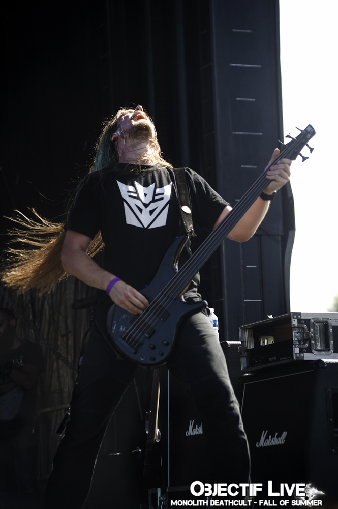 Monolith Deathcult Au Fall Of Summer, pics by Objectif Live