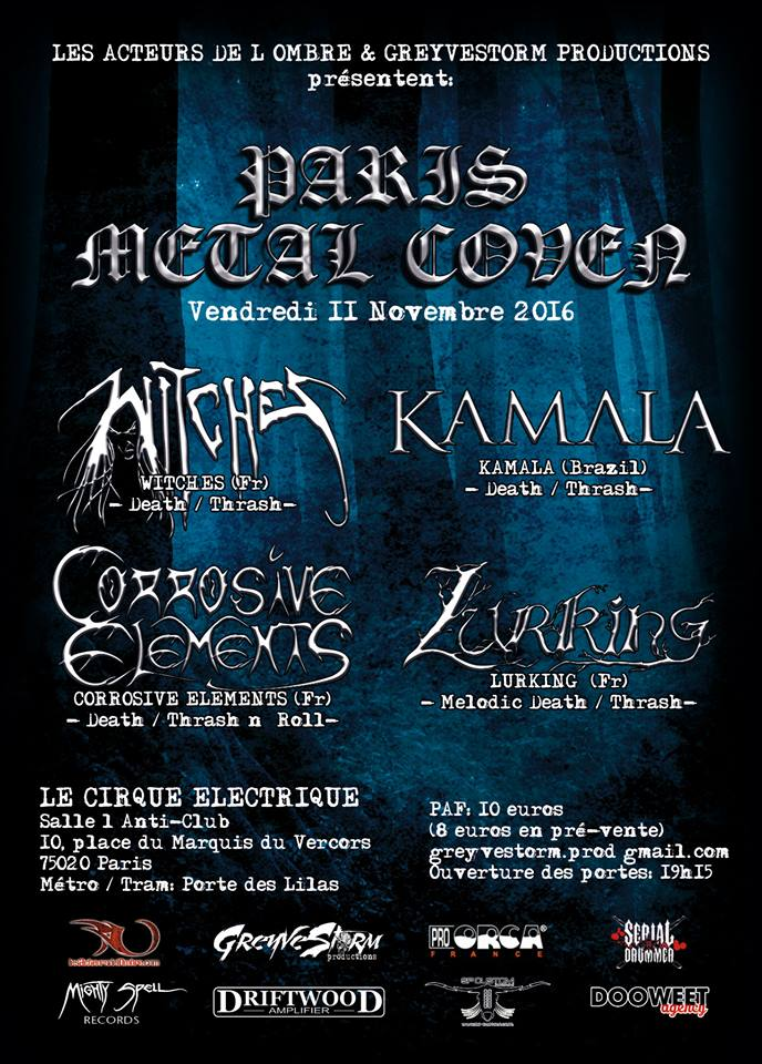 PAris MEtal Coven