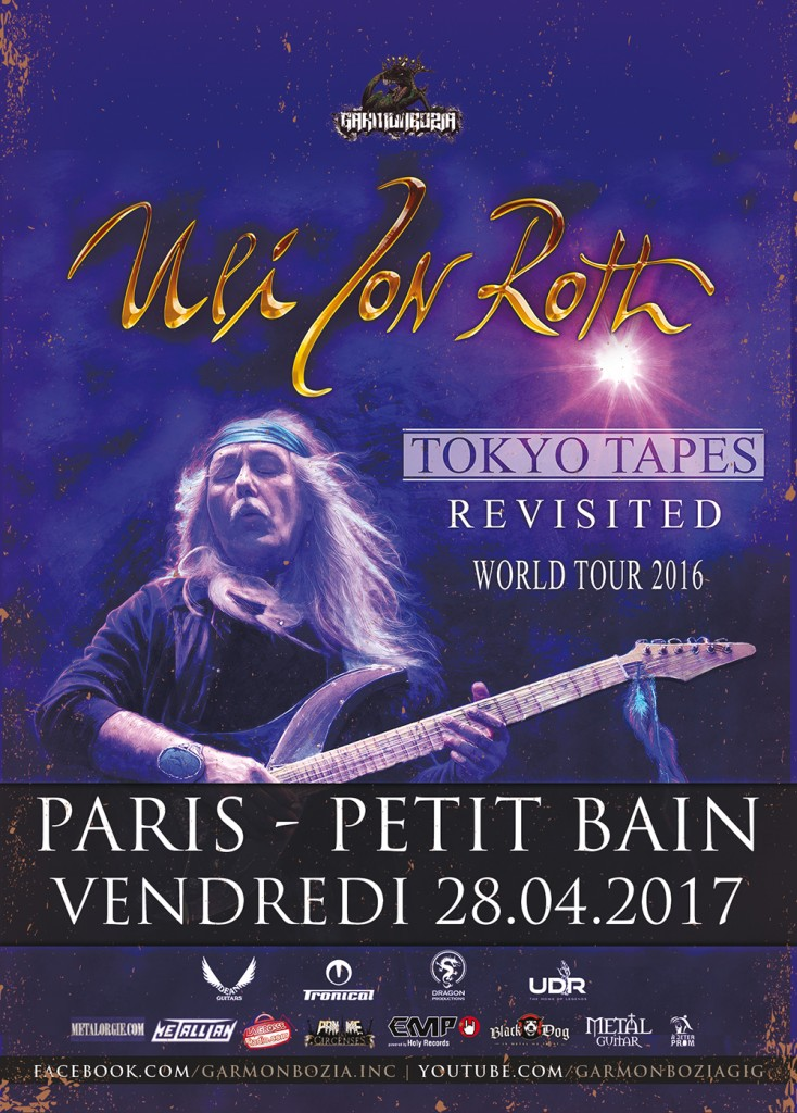Uli Jon Roth live in Paris