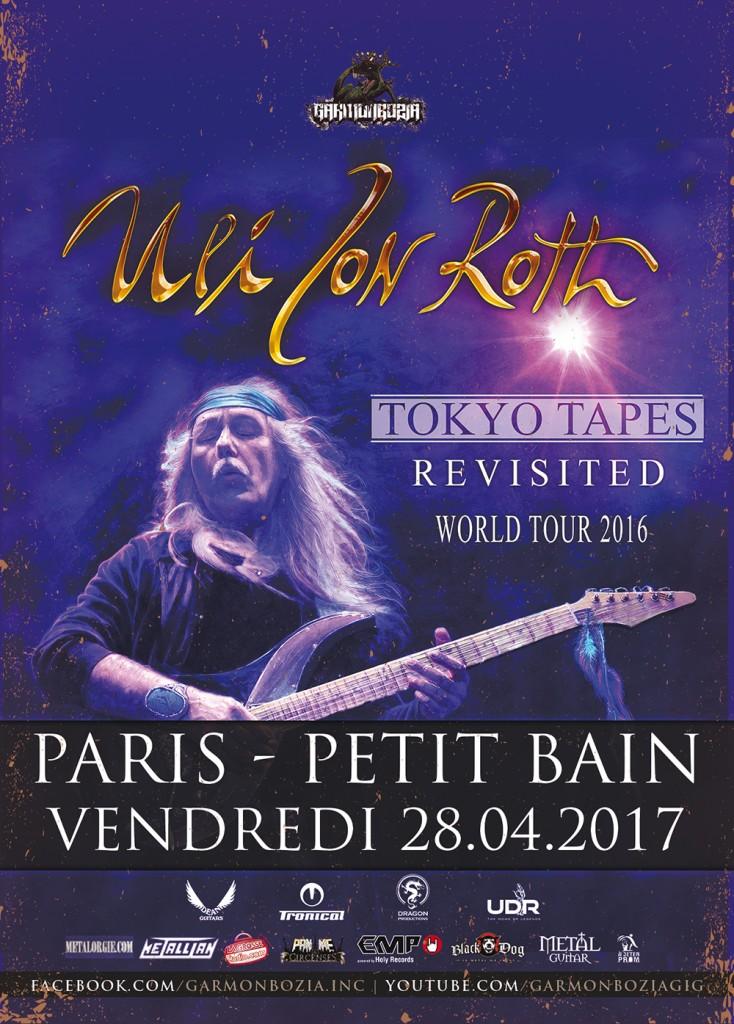 Uli Jon Roth live in Paris